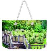 Digital Paint Landscape Jefferson Island  Weekender Tote Bag