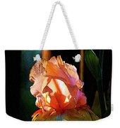 Digital Painting Iris Catching The Sun 6768 Dp_2 Weekender Tote Bag