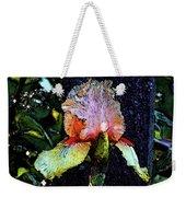 Digital Painting Pink And Yellow Iris 6758 Dp_2 Weekender Tote Bag