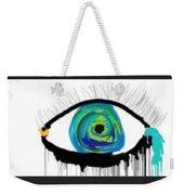 Digital Tears Weekender Tote Bag