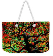 Digital Tree Impressionism Pixela Weekender Tote Bag