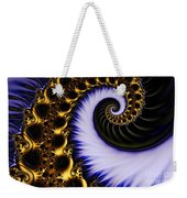 Digital Wave Weekender Tote Bag