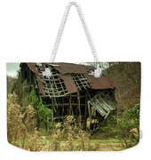 Dilapidated Barn Morgan County Kentucky Weekender Tote Bag