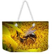Diligent Pollinating Work Weekender Tote Bag