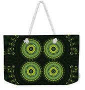 Dill Weed Flower Wheels Weekender Tote Bag