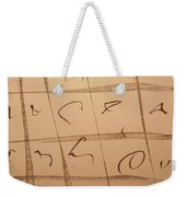 Dimension Domain Weekender Tote Bag