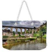 Dinan Port Brittany France Weekender Tote Bag