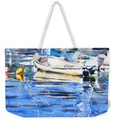 Dinghies At High Tide Weekender Tote Bag