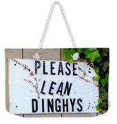 Dinghy Do's Weekender Tote Bag