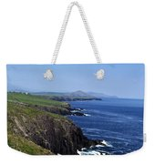 Dingle Coast Near Fahan Ireland Weekender Tote Bag