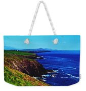 Dingle Coastline Near Fahan Ireland Weekender Tote Bag