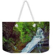 Dingmans Falls Weekender Tote Bag