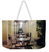 Dining At The Castle Weekender Tote Bag