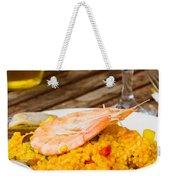 Dining With Paella Weekender Tote Bag
