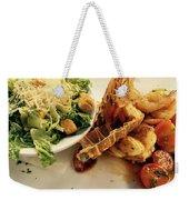 Dinner Weekender Tote Bag
