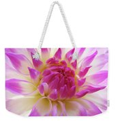 Dinner Plate Dahlia Flower Art Prints Canvas Floral Baslee Troutman Weekender Tote Bag