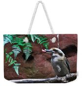 Dinner Time For Mister Bird Weekender Tote Bag
