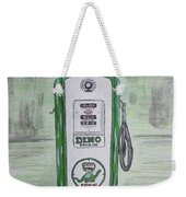 Dino Sinclair Gas Pump Weekender Tote Bag