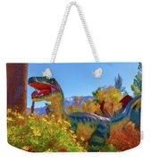 Dinosaur 7 Weekender Tote Bag