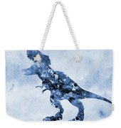 Dinosaur Rex-blue Weekender Tote Bag