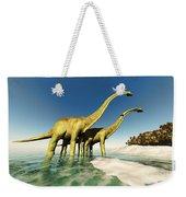 Dinosaur World Weekender Tote Bag