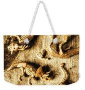 Dinosaurs In A Bone Display Weekender Tote Bag
