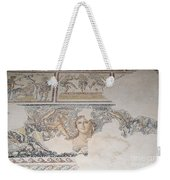 Dionysus Mosaic Mona Lisa Of The Galilee Weekender Tote Bag by Ilan Rosen