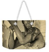 Dionysus Sepia Old Weekender Tote Bag