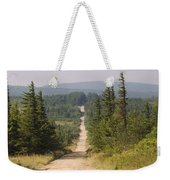 Dirt Road To Dolly Sods Weekender Tote Bag