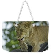 Dirty Paws Weekender Tote Bag