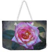 Dirty Pink Rose Weekender Tote Bag