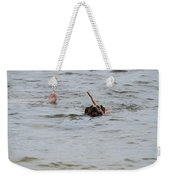 Dirty Water Dog And Feet Weekender Tote Bag