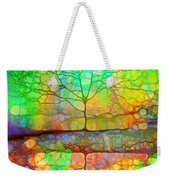 Disappearing In Colour Weekender Tote Bag