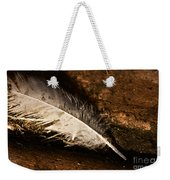 Discarded Feather Weekender Tote Bag