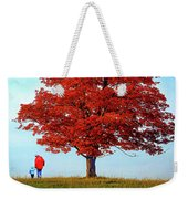Discovering Autumn - Reflection Weekender Tote Bag