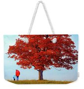 Discovering Autumn Weekender Tote Bag