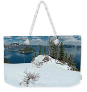 Discovery Point Panorama Weekender Tote Bag