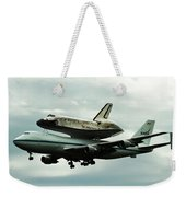 Discovery Riding Home Weekender Tote Bag
