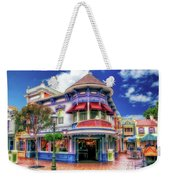 Disney Clothiers Main Street Disneyland 01 Weekender Tote Bag