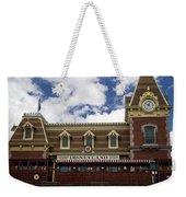 Disneyland Train Depot Signage Weekender Tote Bag