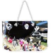 Display Trunk Car Day Dead  Weekender Tote Bag