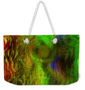 Dissolution Weekender Tote Bag by Linda Sannuti