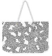 Dissolving Weekender Tote Bag