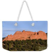 Distant Camels In The Garden Of The Gods Weekender Tote Bag