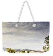 Distant Car Wrecks On Outback Australian Land  Weekender Tote Bag