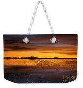 Distant Hills At Sunset Weekender Tote Bag