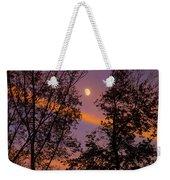 Distant Moon Weekender Tote Bag