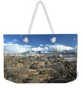 Distant Mountain Range Weekender Tote Bag