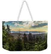 Distant Mountains To The East Weekender Tote Bag