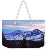The Distant Peaks Of Pikes Weekender Tote Bag